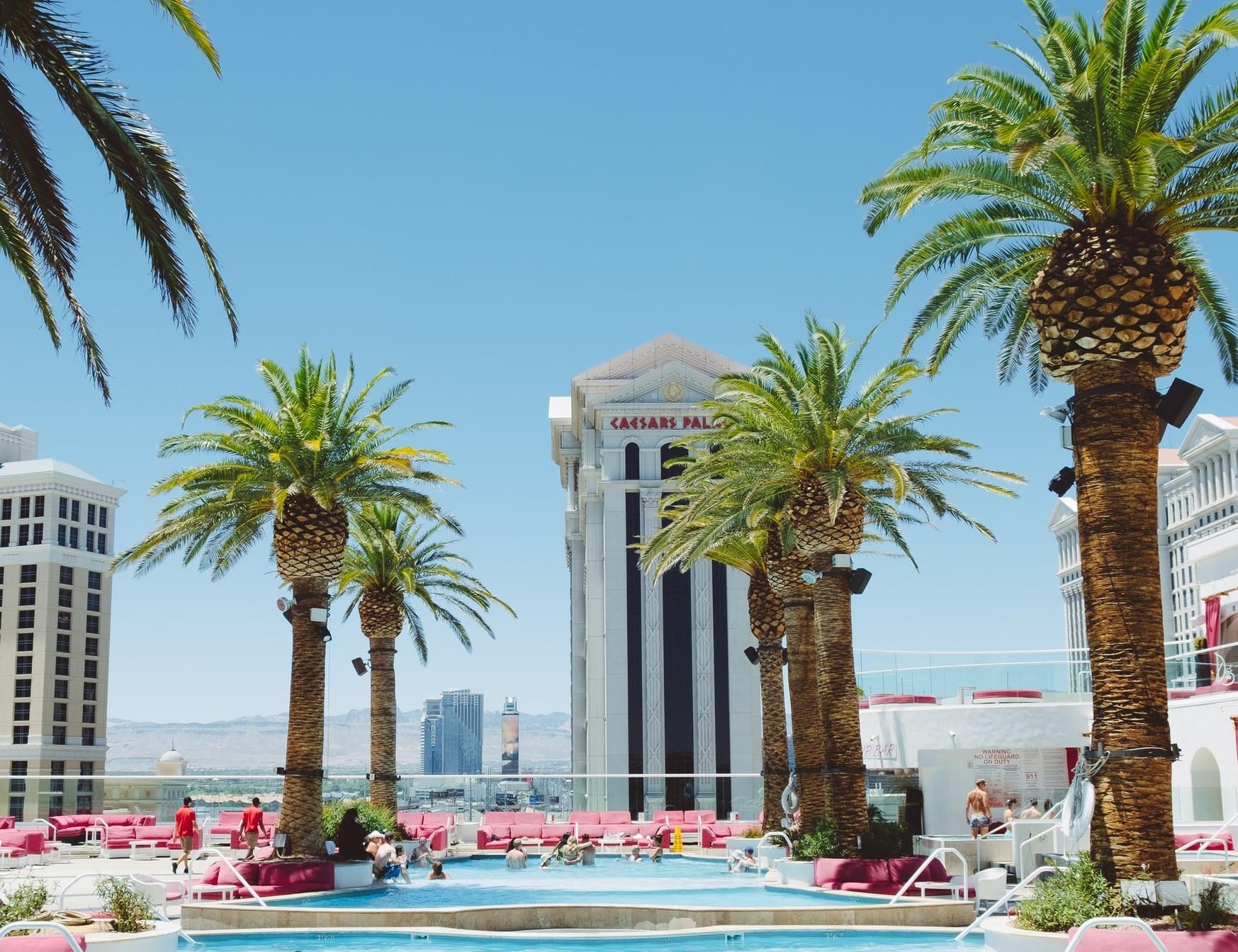 Pool Vegas Sonne