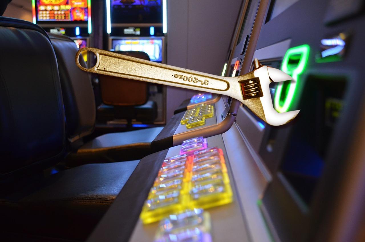 Schraubenschlüssel, Spielautomat
