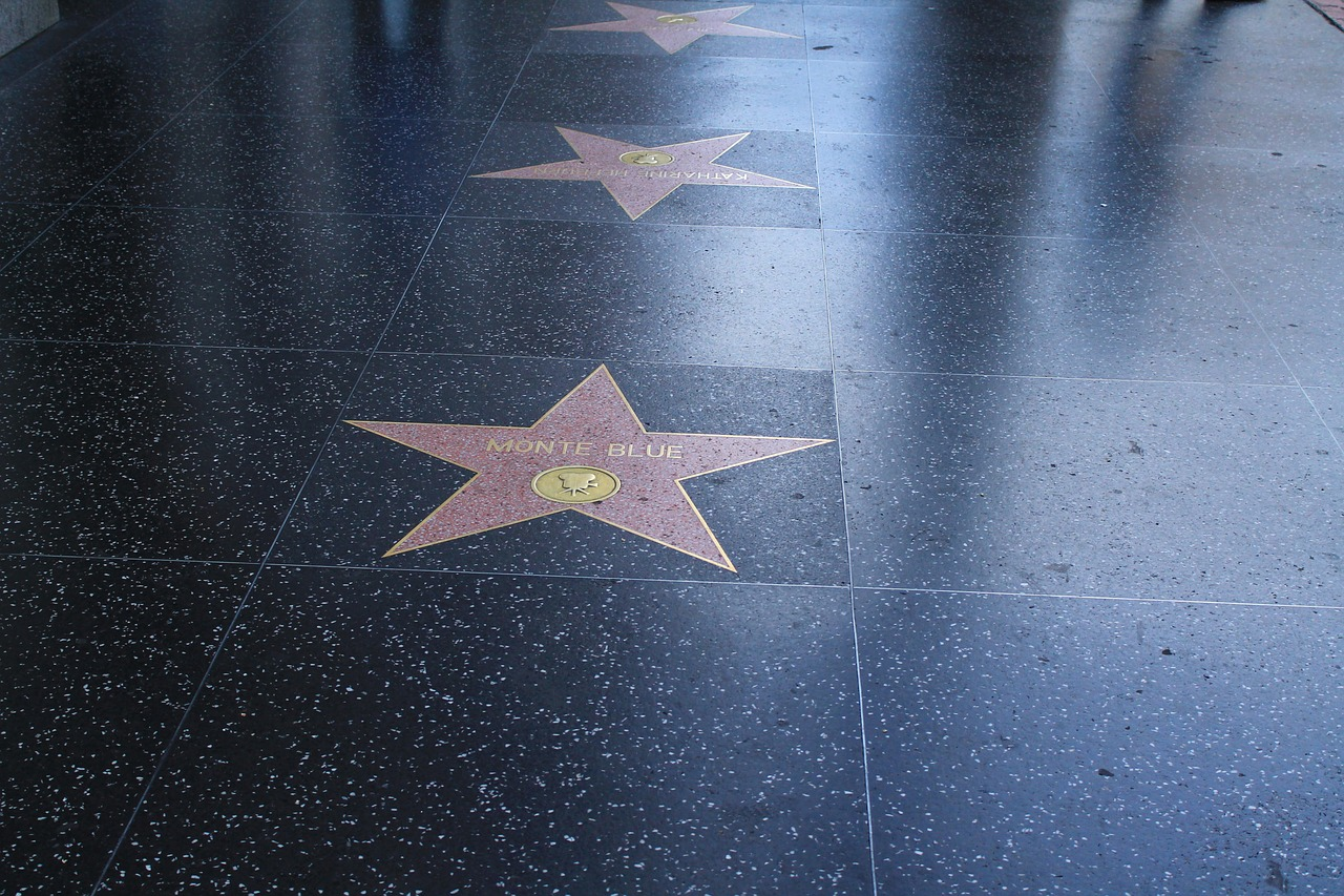 Hollywood, Hollywood-Stern, Walk of Fame