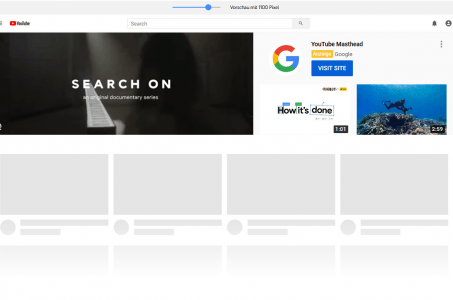 YouTube Masthead Preview