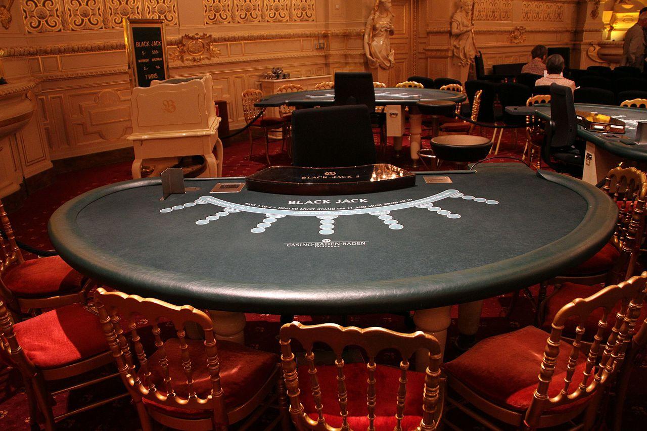 Baden-Baden-Kurhaus Casino Florentiner Saal 52 Black Jack