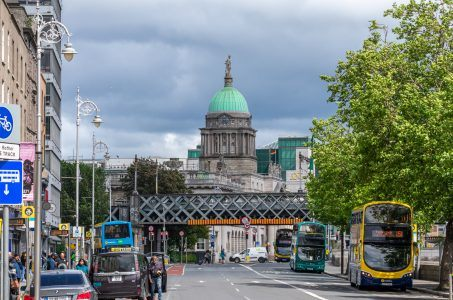 Eden Quay Dublin Irland
