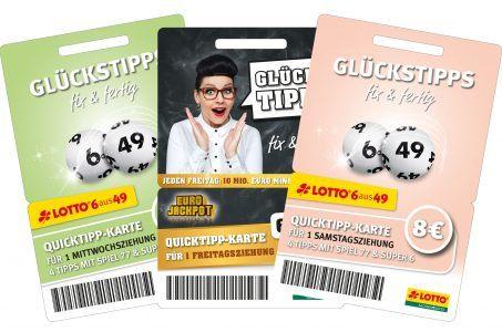 Quicktipp-Karten Sachsenlotto
