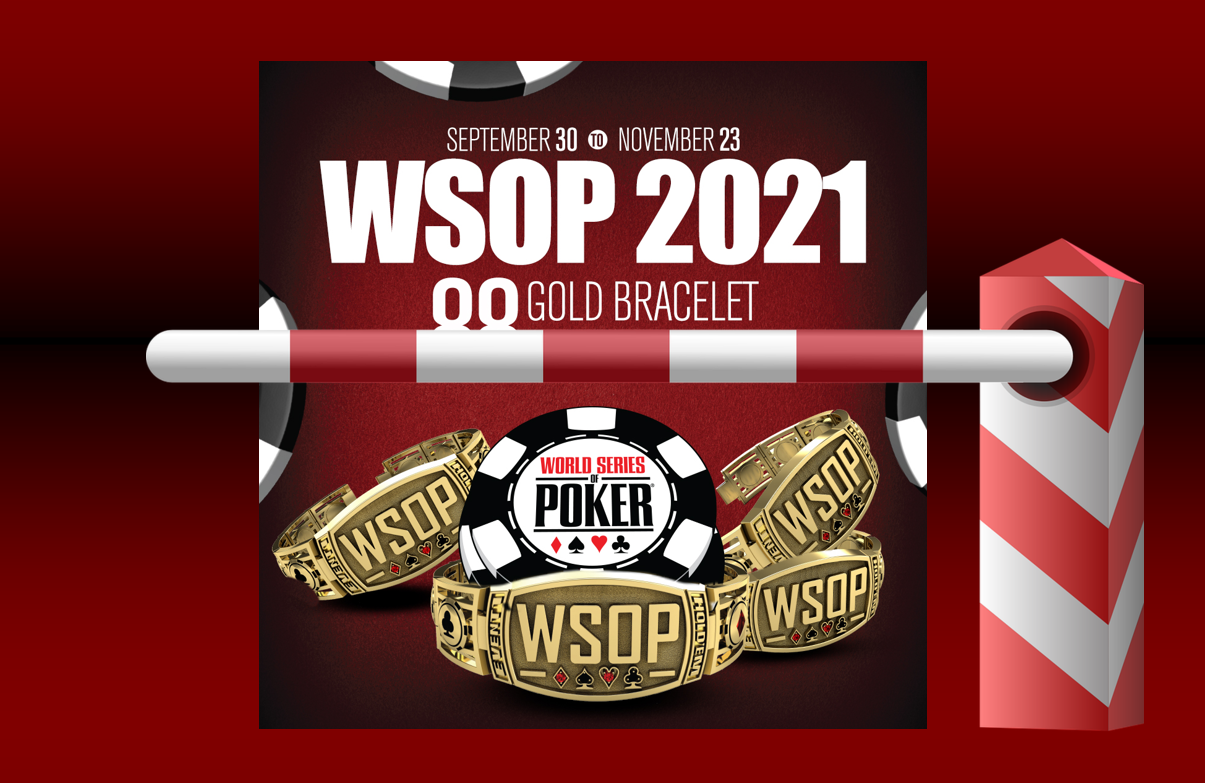 WSOP 2021 Logo, Grenze