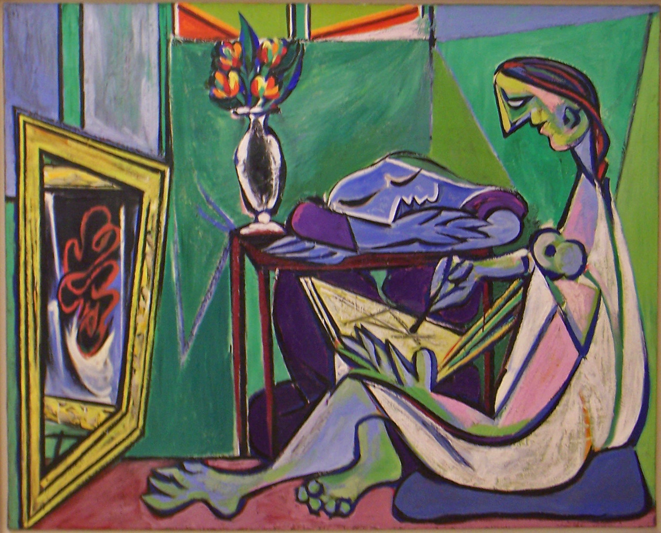 Picasso die Muse