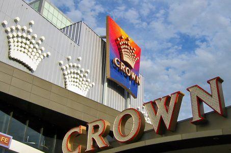 Crown Casino Leuchtschrift