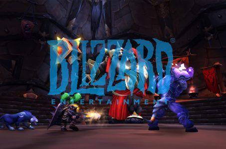Blizzard Logo, WoW Spielszene