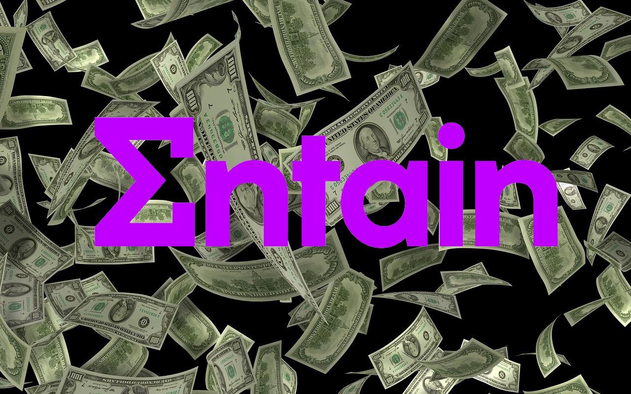 Dollarscheine, Entain Logo
