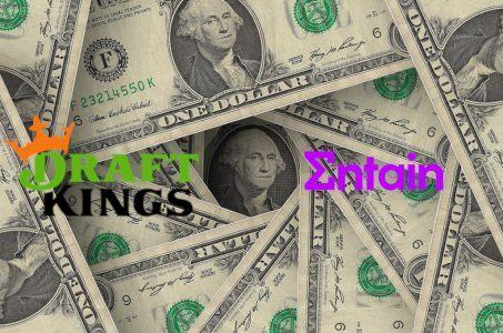 Dollarscheine Entain DraftKings