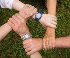 Team, Gruppe, Selbsthilfegruppe, Hände