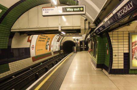 London U-Bahn Piccadilly Circus