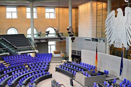 Plenarsaal Deutscher Bundestag