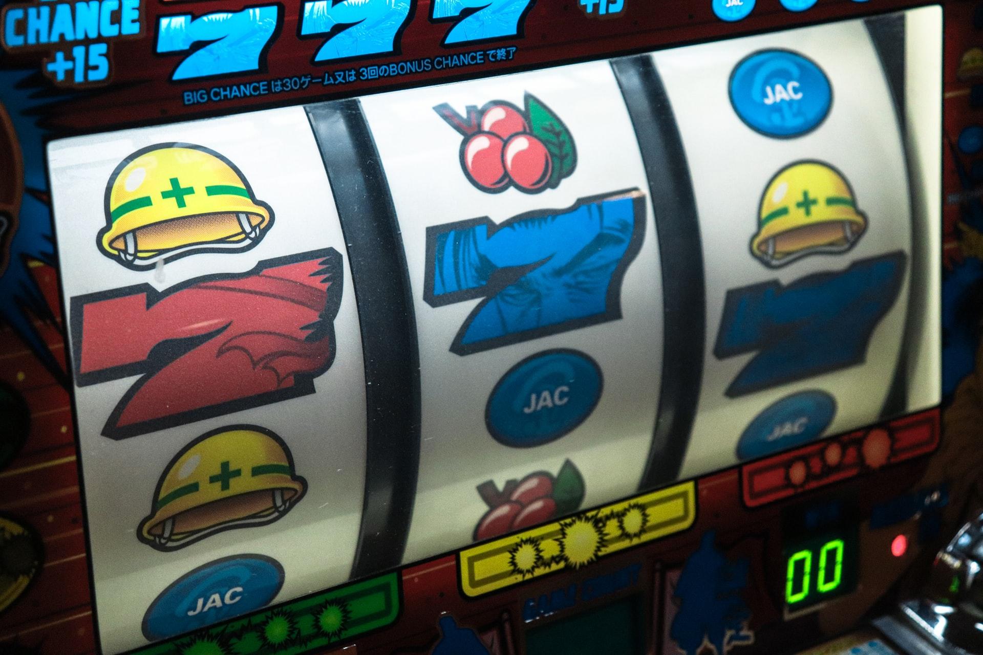 Spielautomat Nahaufnahme