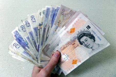 Britische Pfund, Geldscheine.