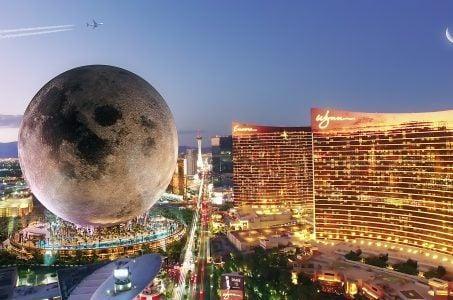 Mond, Las Vegas Strip