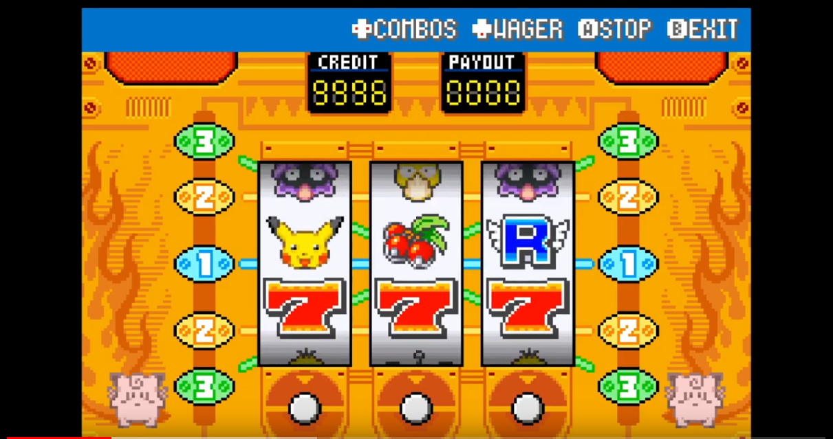 Pokémon Spielautomat