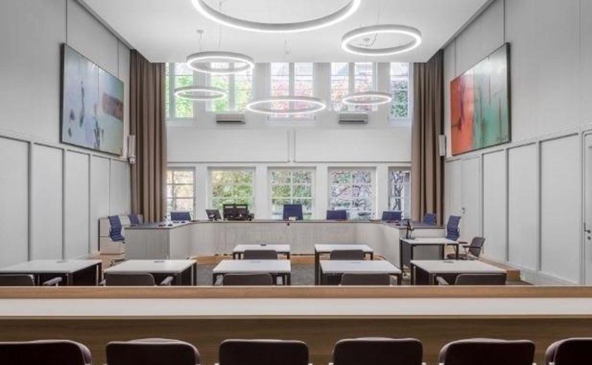 Strafgericht Basel Innenraum