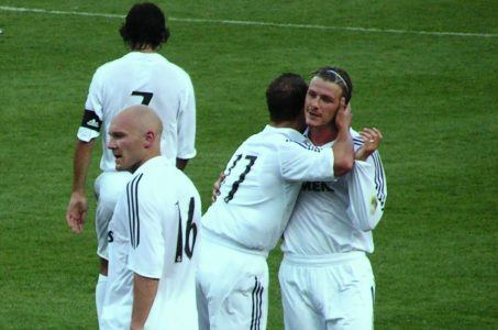 Thomas Gravesen Real Madrid Beckham