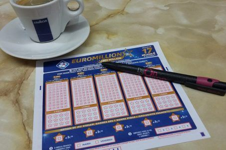 EuroMillions Los Stift Kaffee