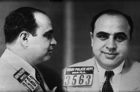 Al Capone Polizeifoto