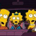 Simpsons im Auto