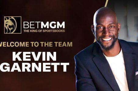 Kevin Garnett, BetMGM Logo