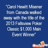 Fallsview Poker Classic