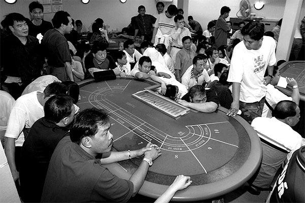 Mafia illegal gambling casino hotel resort tropicana