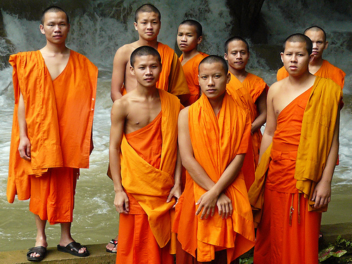 Vietnam: Early Morning Alms For The Monks - Laura Davis