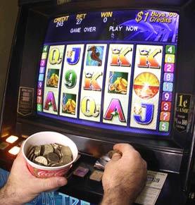 poker machine gambling device
