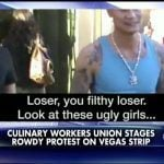 Local Culinary Union Berating Cosmopolitan Tourists in Las Vegas