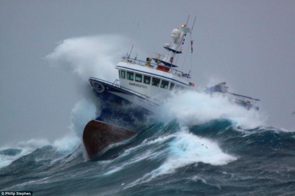 North Sea trawler - Scotland