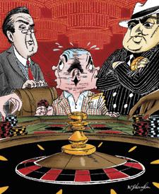 Deadbeat gamblers
