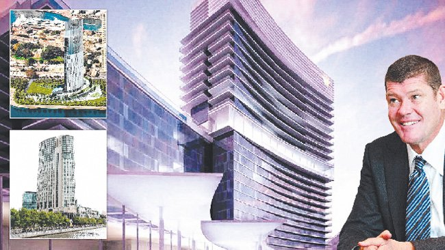 James Packer Crown Sydney casino and hotel