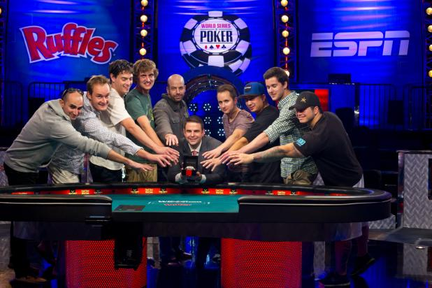 November Nine Final Table WSOP 2013