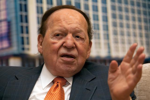 Sheldon Adelson online gambling
