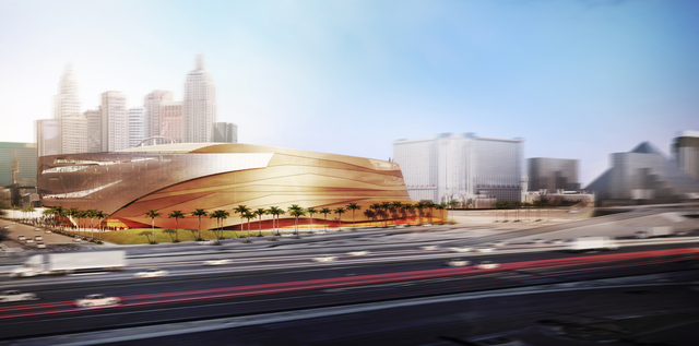 MGM Resorts' new sports arena rendering