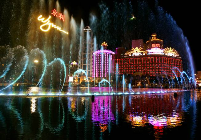 Macau casino profits