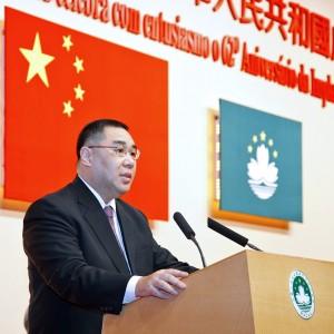 Fernando Chui Macau Chief Executive