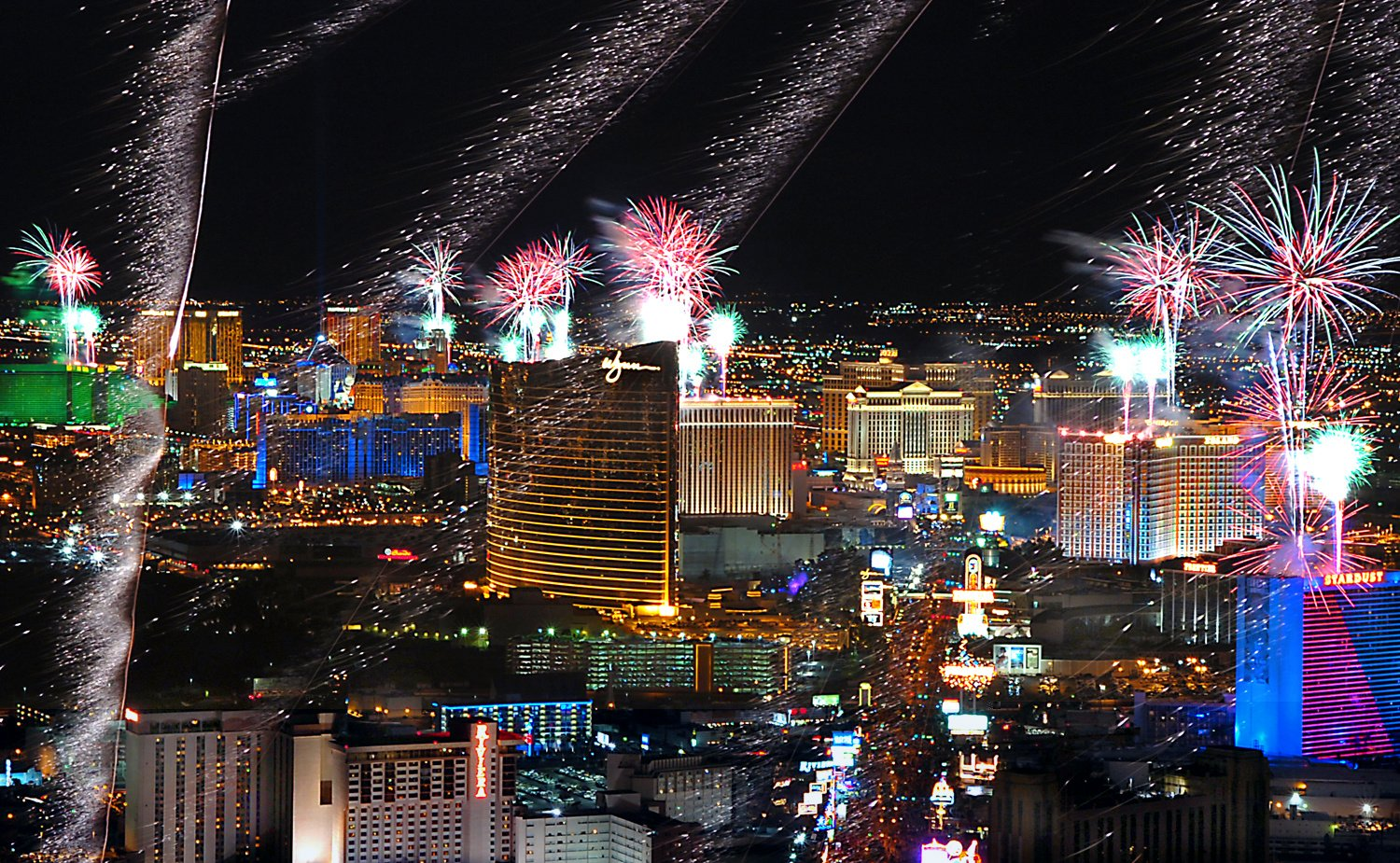 las vegas on new years eve