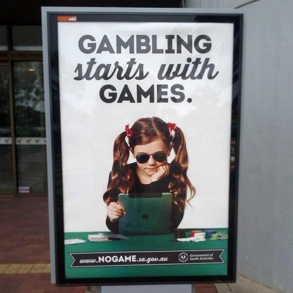 South Australian anti-gaming campaign