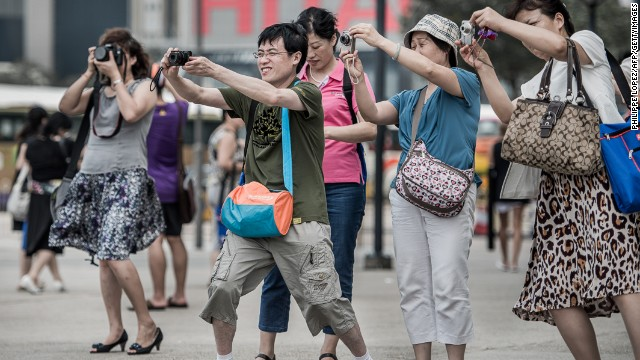 Macau Chinese tourists
