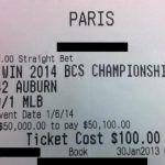 Internet Sensation Auburn Fan Mark Skiba Just Misses with 500-1 Shot