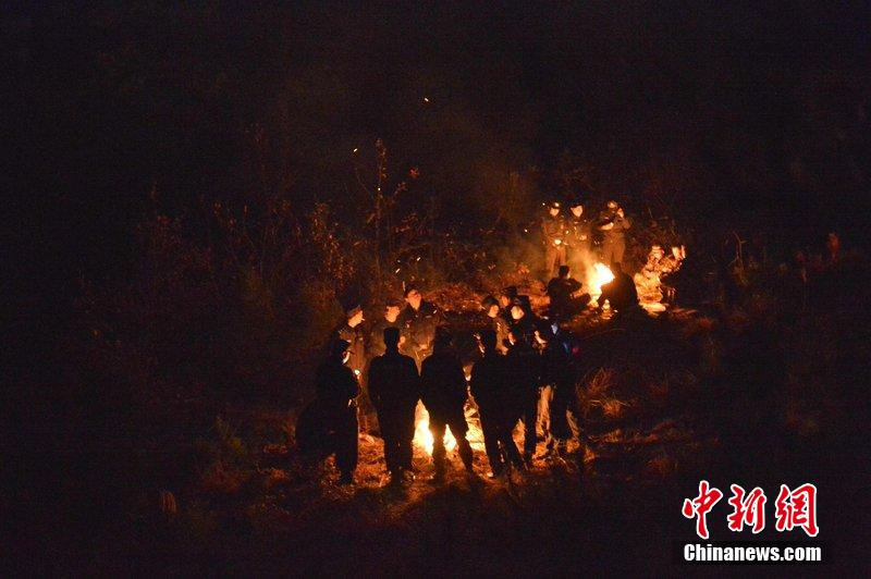 illegal gambling in China hillside explosion
