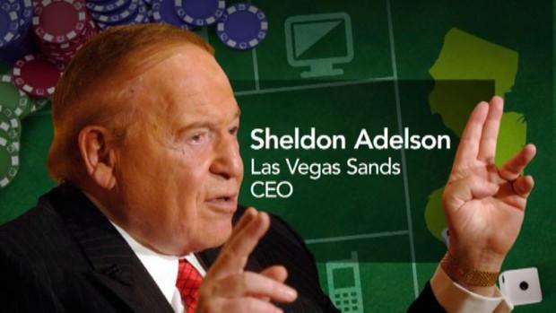 Sheldon Adelson State AGs online gambling legislation
