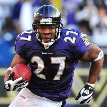 Ray Rice Baltimore Ravens Revel