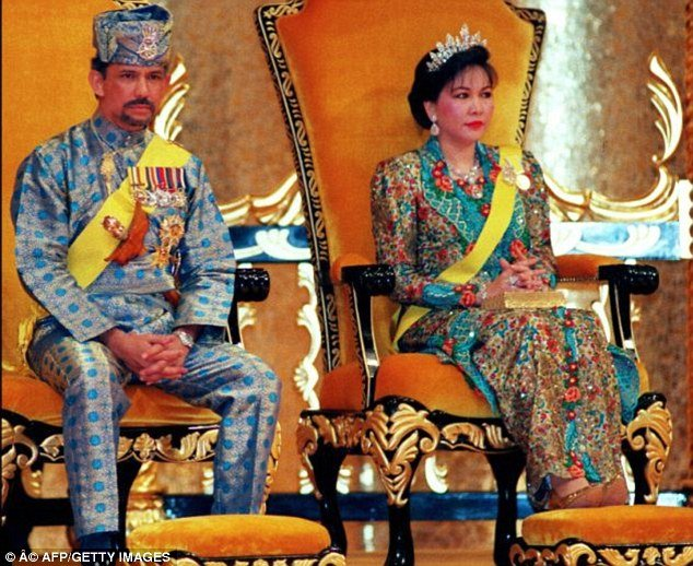 Sultan of Brunei Miriam Aziz Fatimah Lim