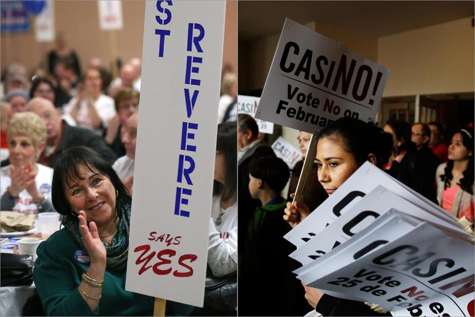 Revere, Massachusetts casino referendum vote