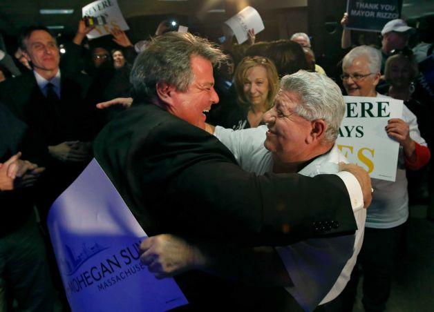 Revere Mayor Dan Rizzo Massachusetts casino license Mohegan Sun Suffolk Downs