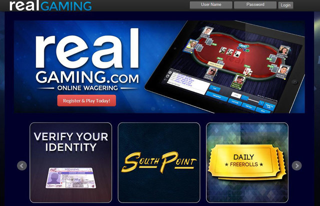 Real Gaming online poker South Point Casino